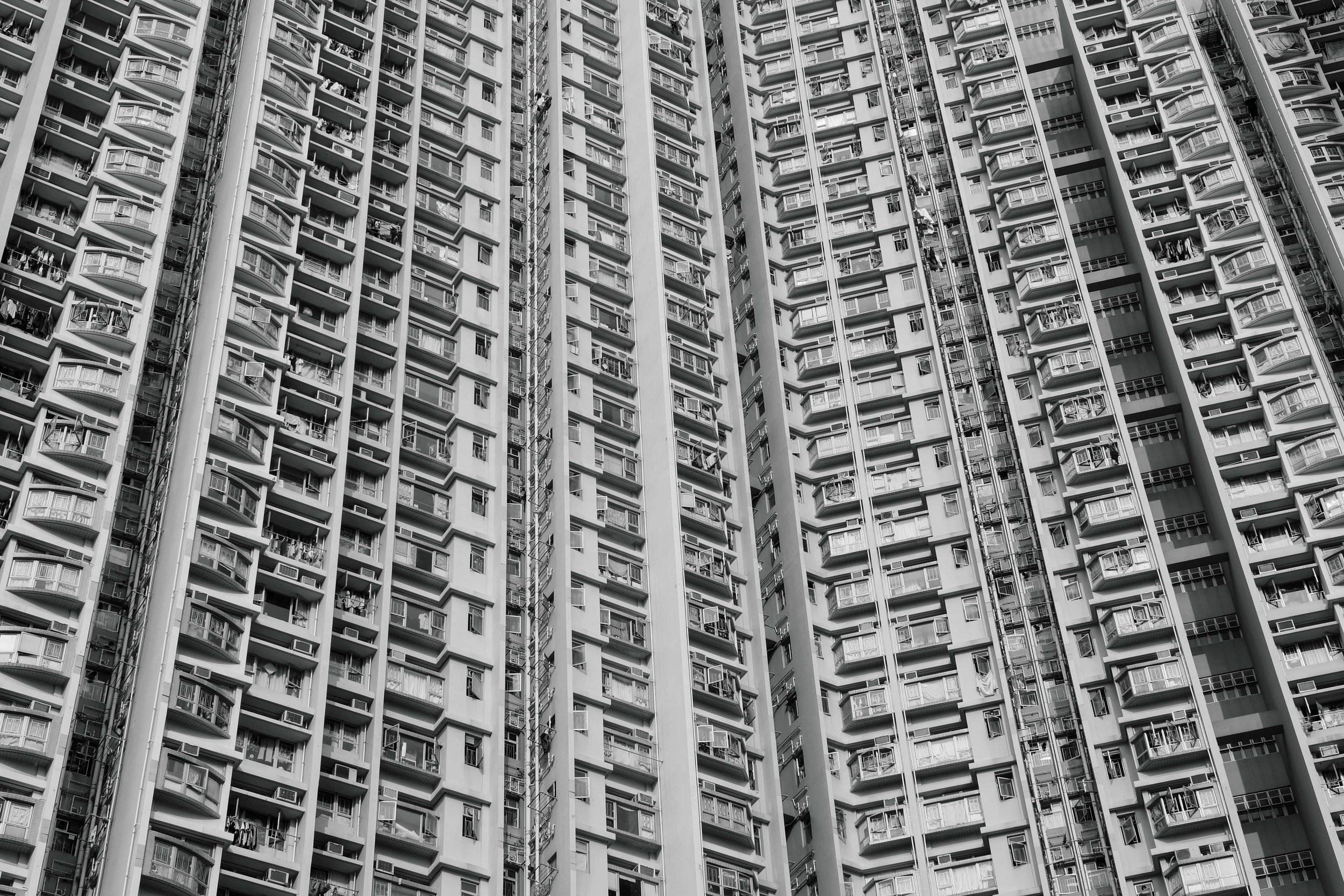 Dense is usually the first word that comes to mind when thinking about Hong Kong's public housing.