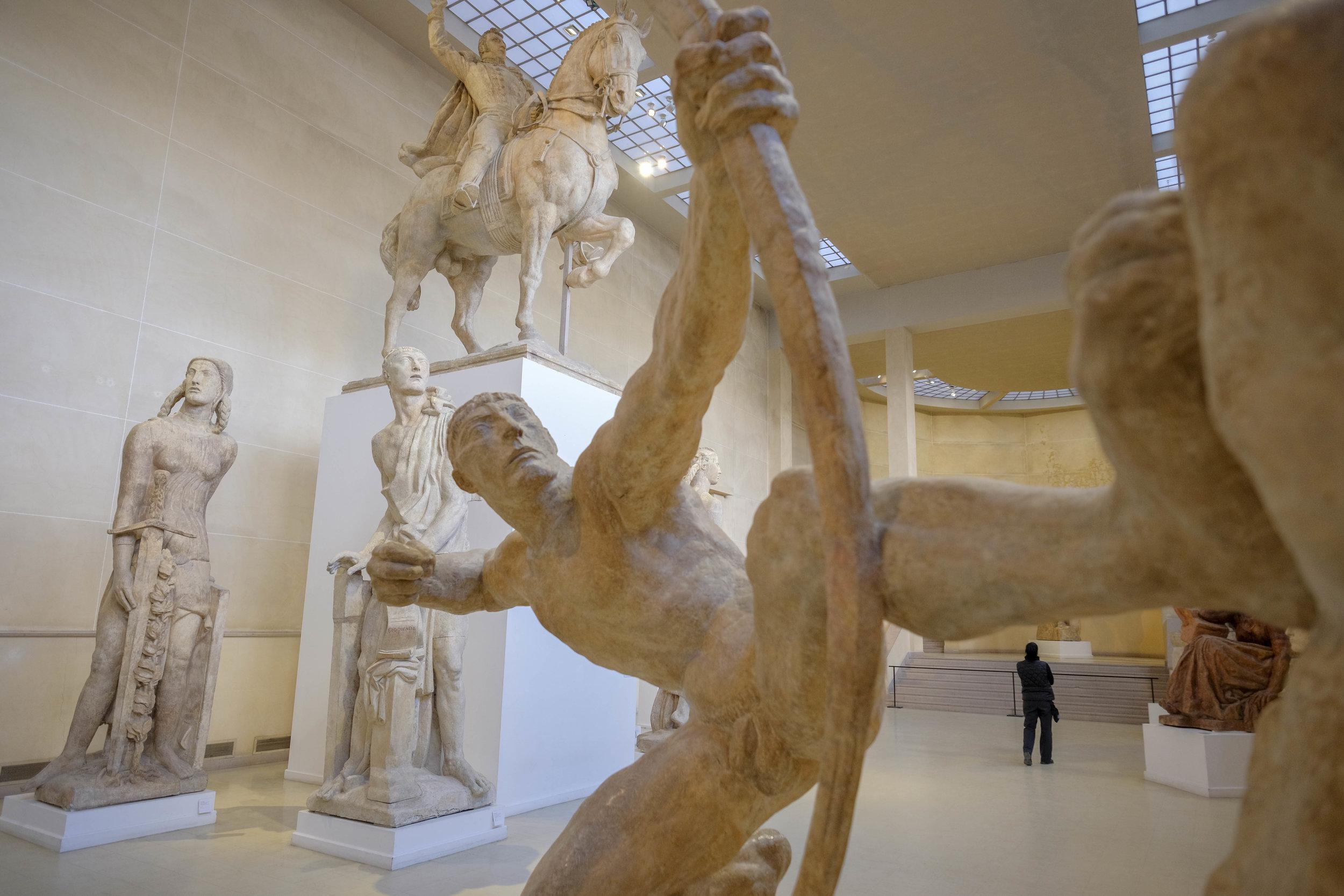 First Action Hero (Musée Bourdelle de Paris)