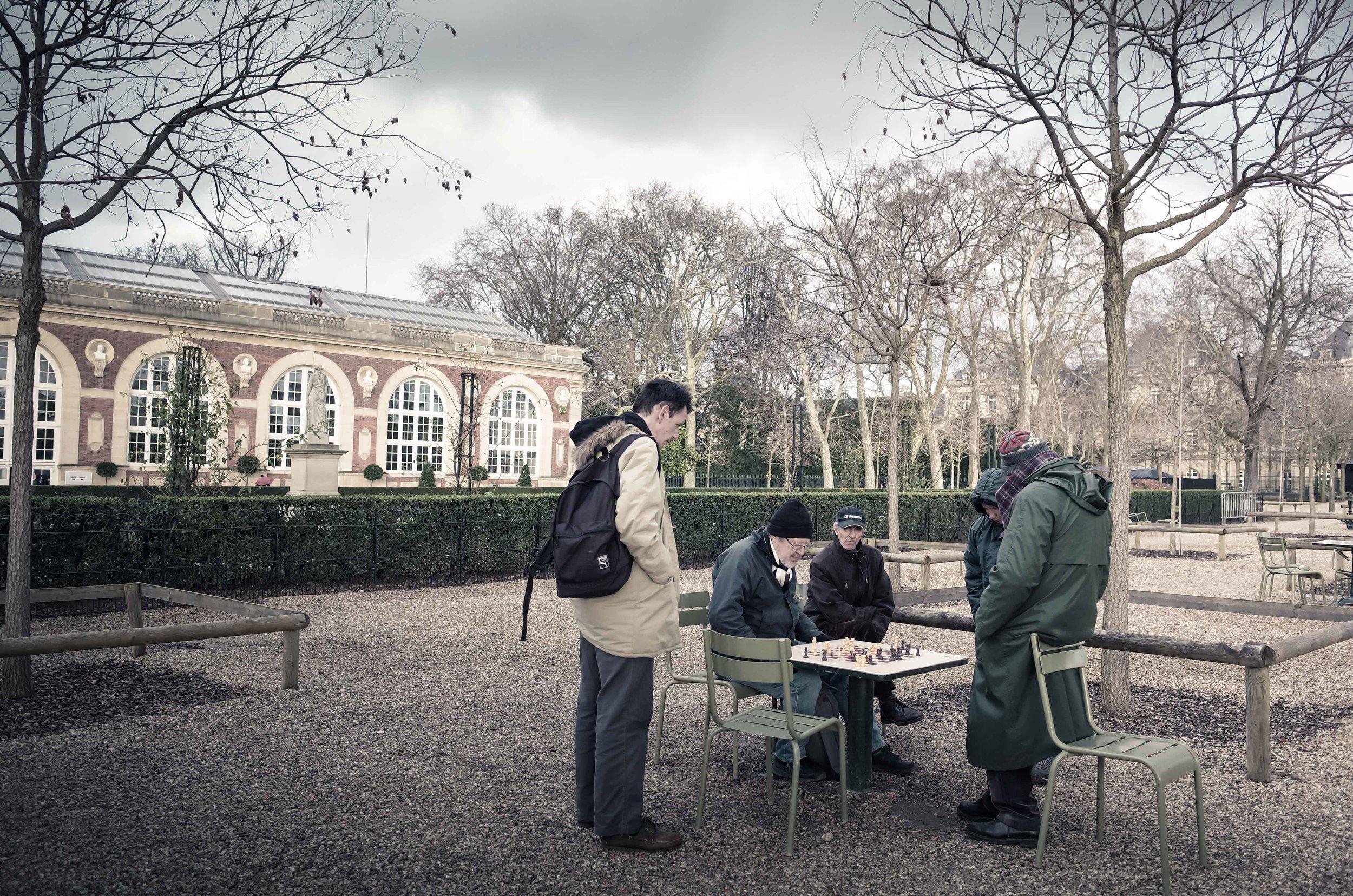 Your Move, Please (Le Jardin du Luxembourg)