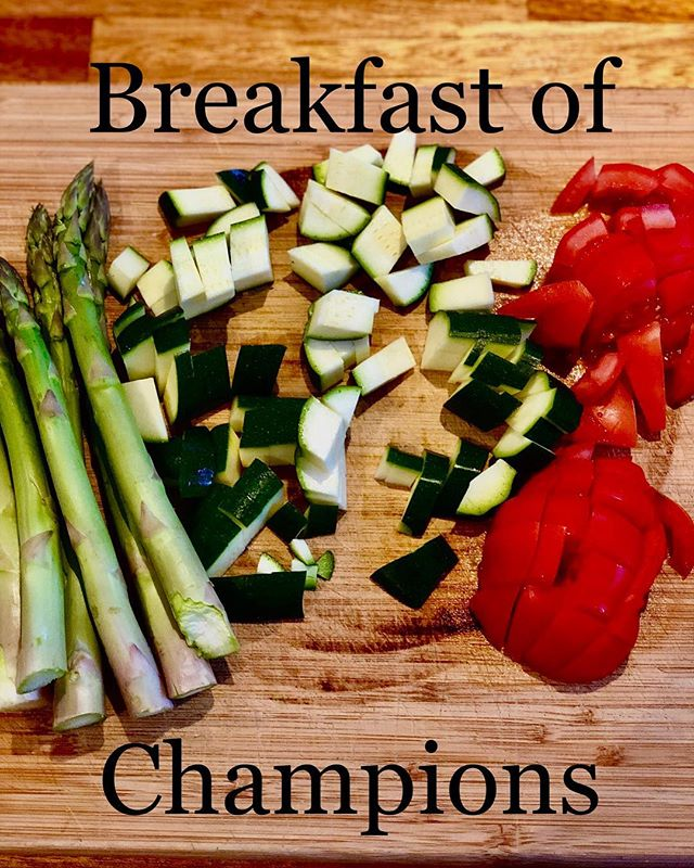 Veggies for breakfast kick start your metabolism and boost fibre intake with essential vitamins and minerals. Try a quick sauté with chilli and extra virgin olive oil and have on sourdough toast with fresh homemade hummus 😋
