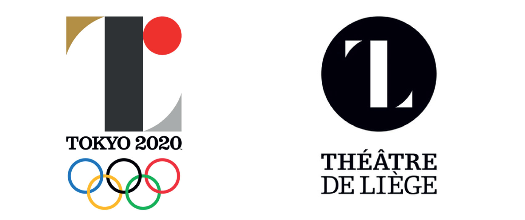 The Tokyo 2020 emblem was withdrawn due to accusations that it plagiarised the Theatre De Liege logo