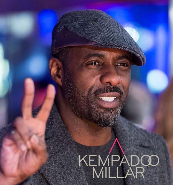 Idris Elba- Actor - 'I Love these Caps'