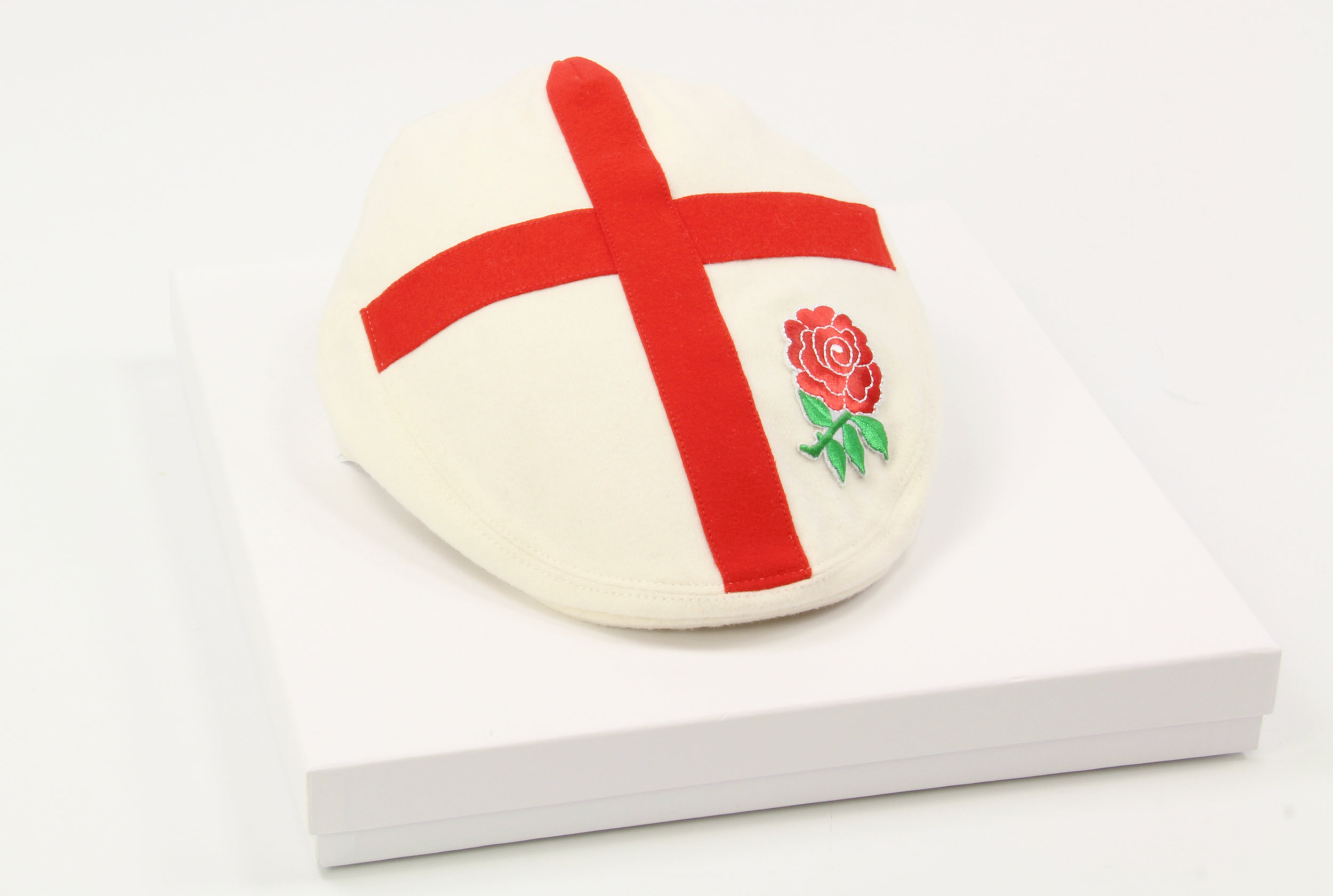 Six Nations England Rugby Flat Cap