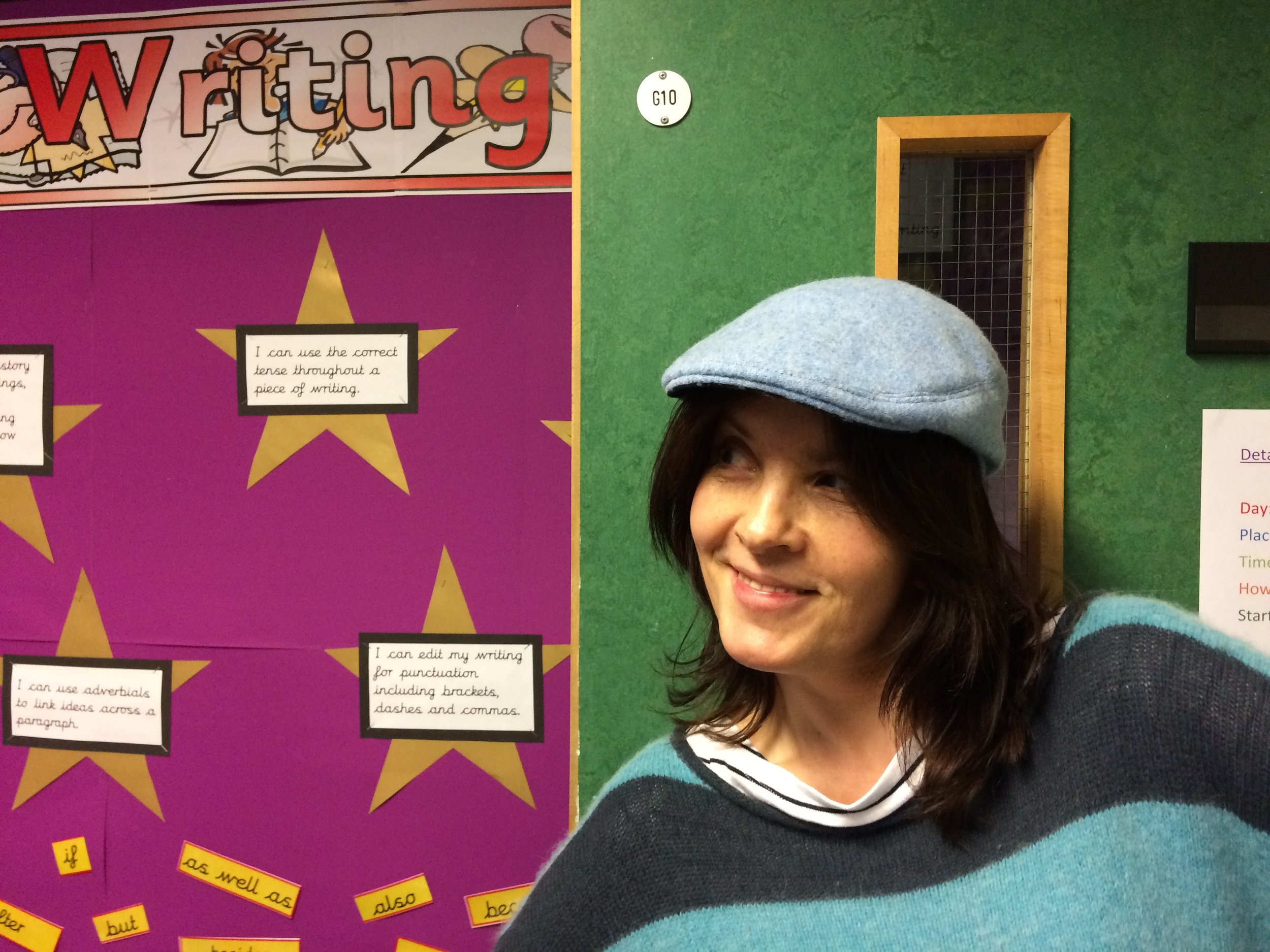 Janine from Spring Bank Primary School supporting the BTRS day