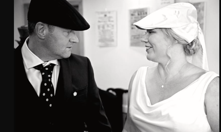 Kempadoo Millar Wedding Flat Cap
