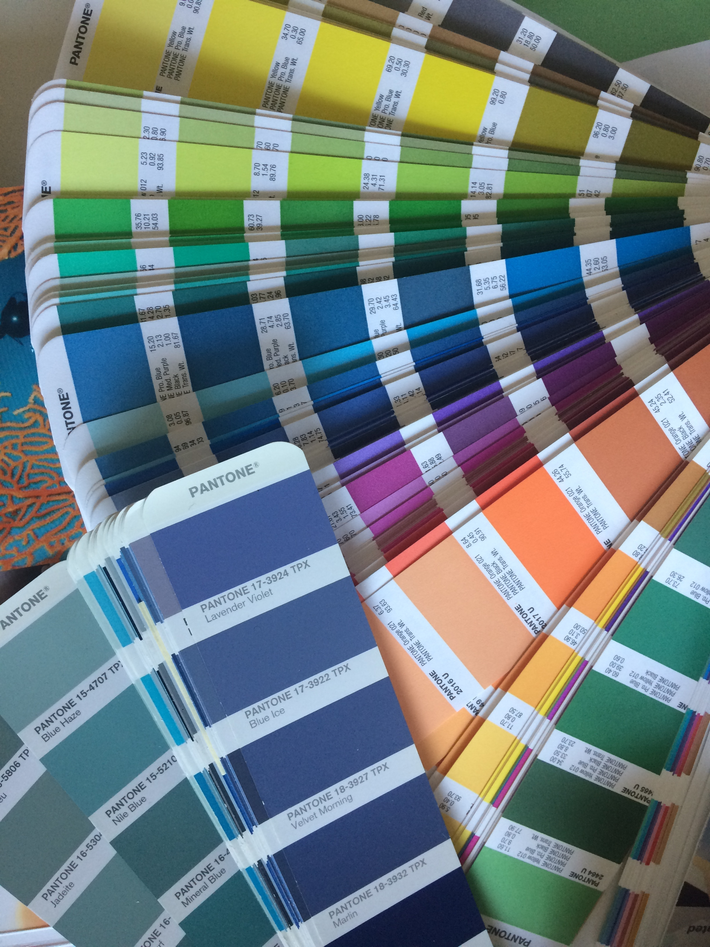 Choosing colours for the FFF Project