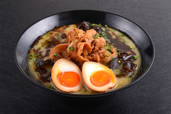 Black Spicy Tonkotsu KING with Flavoured Egg ($15.90)