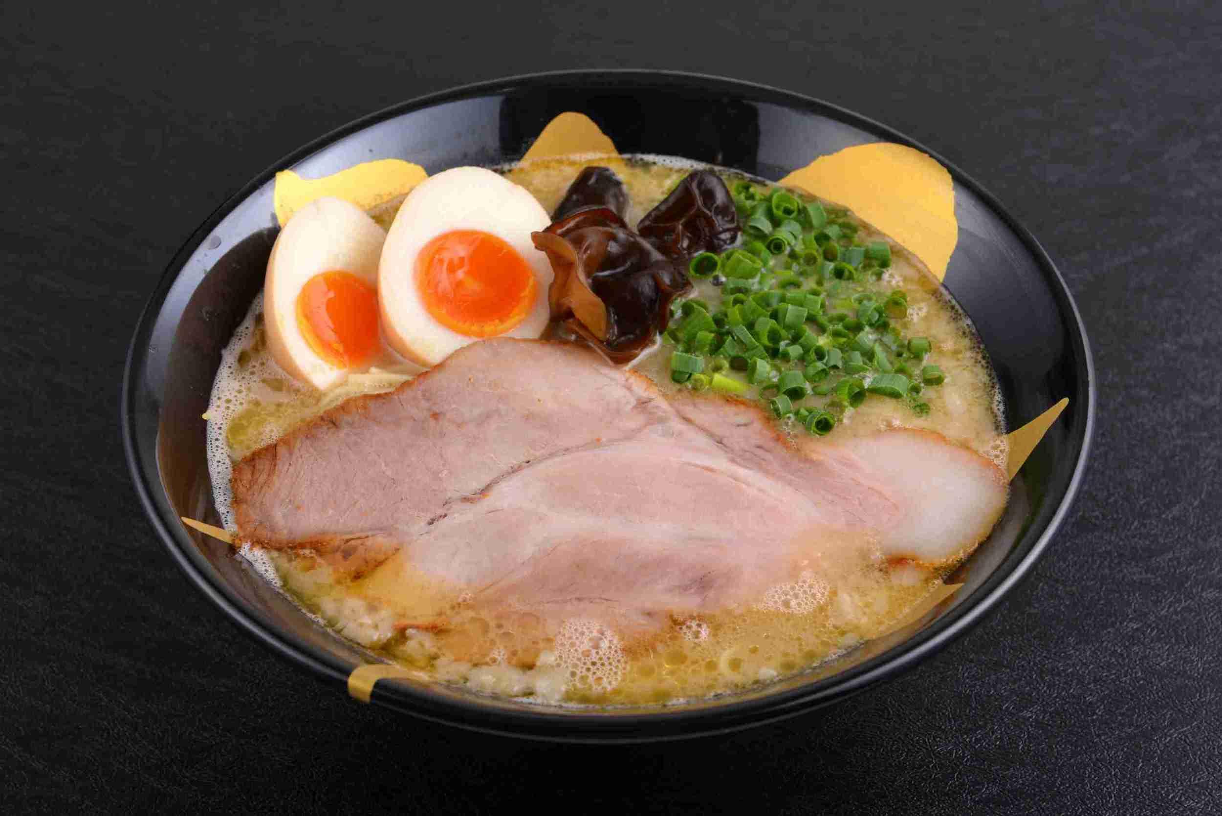 Tonkotsu Ramen with Flavoured Egg ($13.90)