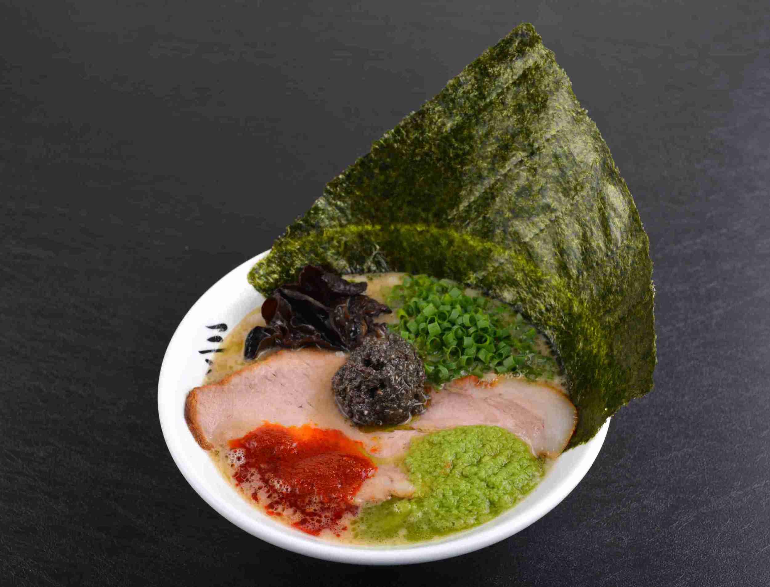 Tonkotsu Ramen SANJYA with Japanese Seaweed ($14.90)