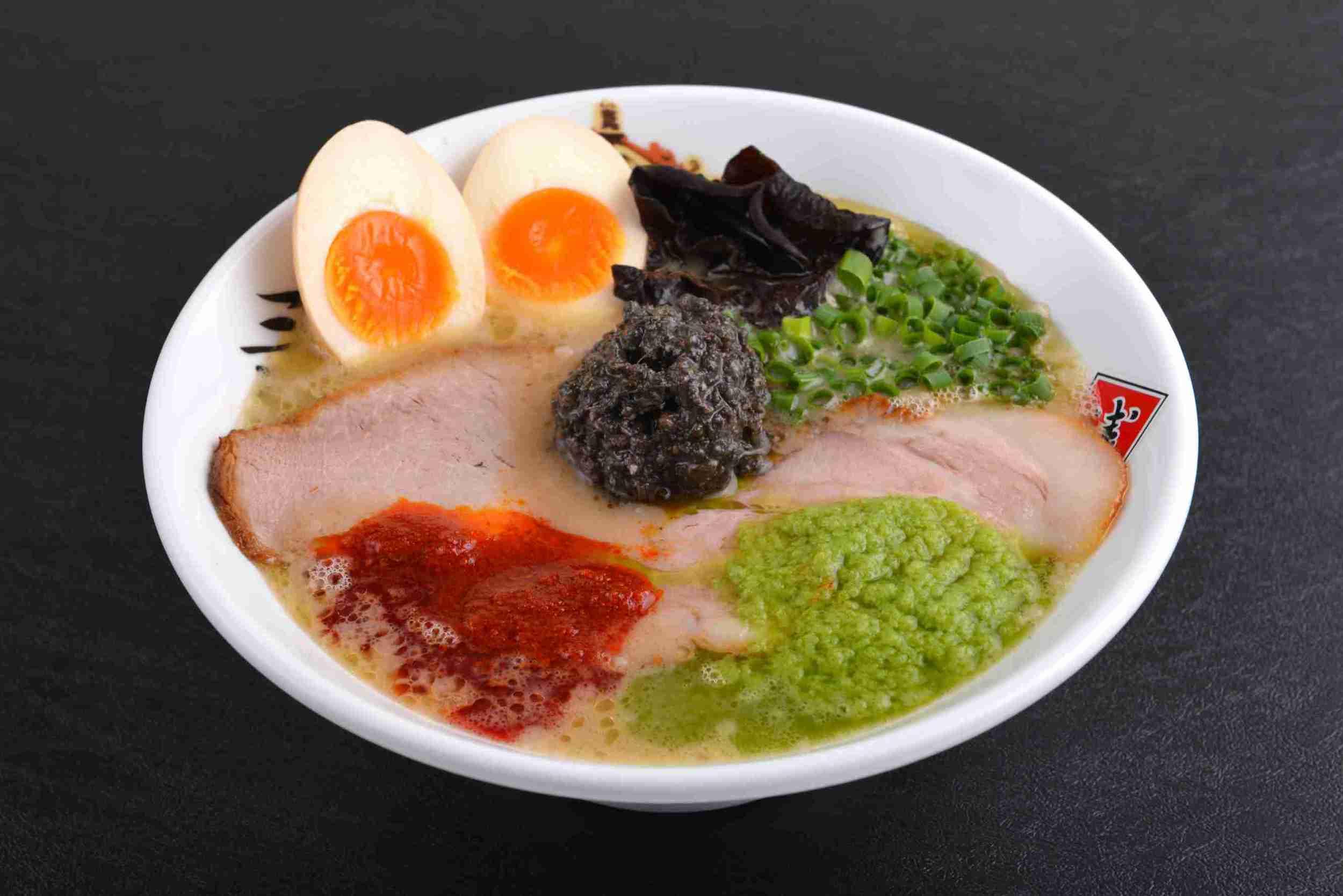Tonkotsu Ramen SANJYA with Flavoured Egg ($15.90)