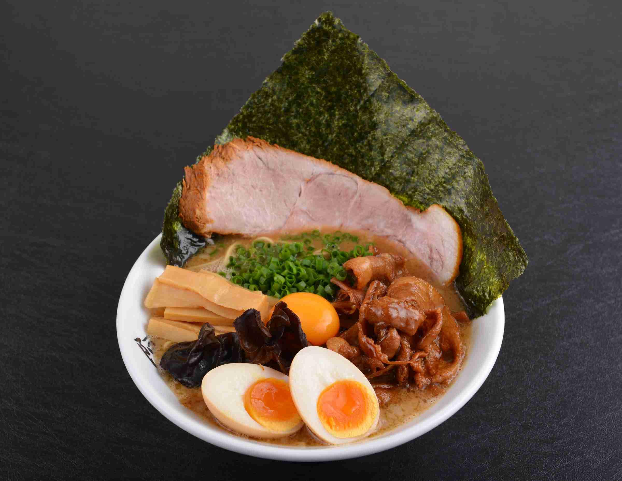 Tonkotsu Ramen AWAODORI Special ($18.90)
