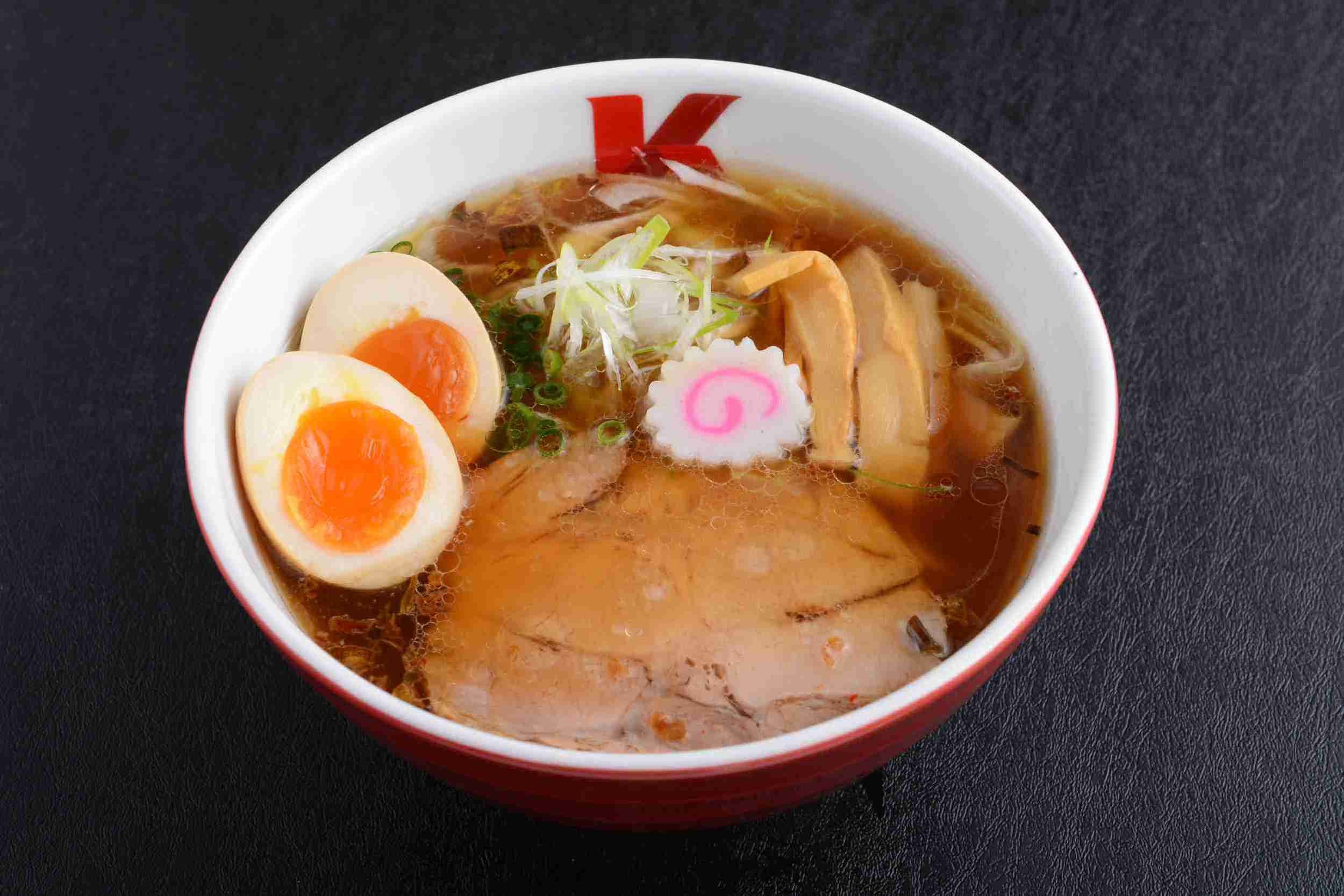 Chicken Stock Ramen with Flavoured Egg (Soya Base) ($13.50)