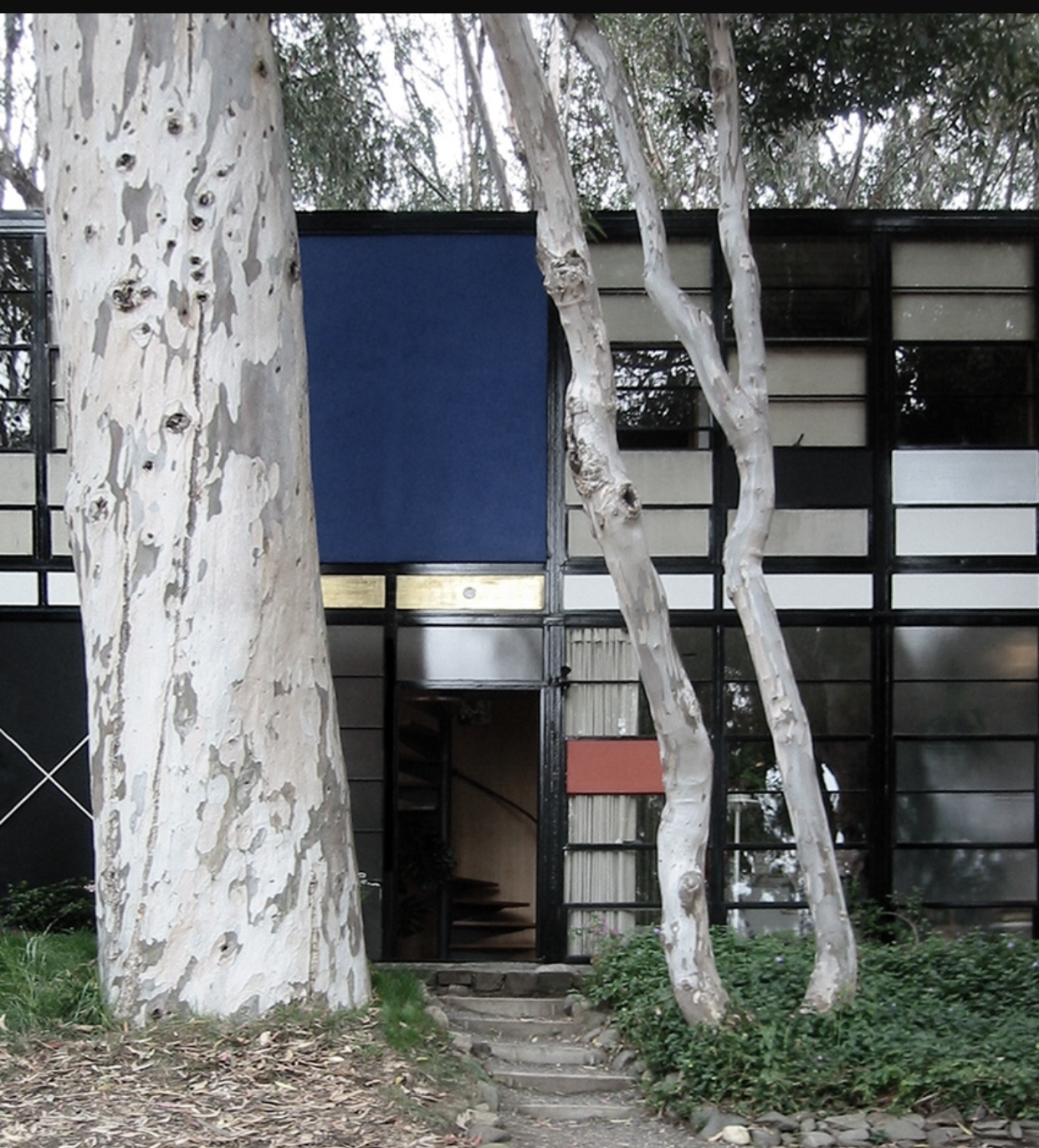 Inspiration  - Charles and Ray Eames Foundation house Pacific Pallisades