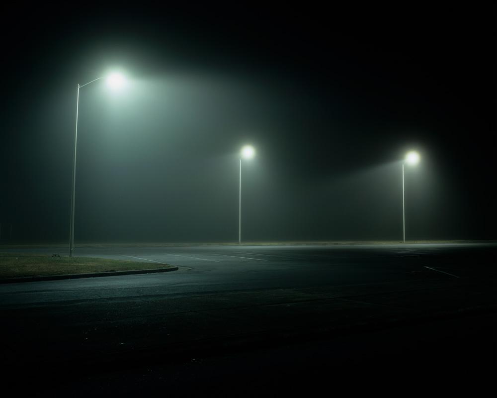 Three Streetlights