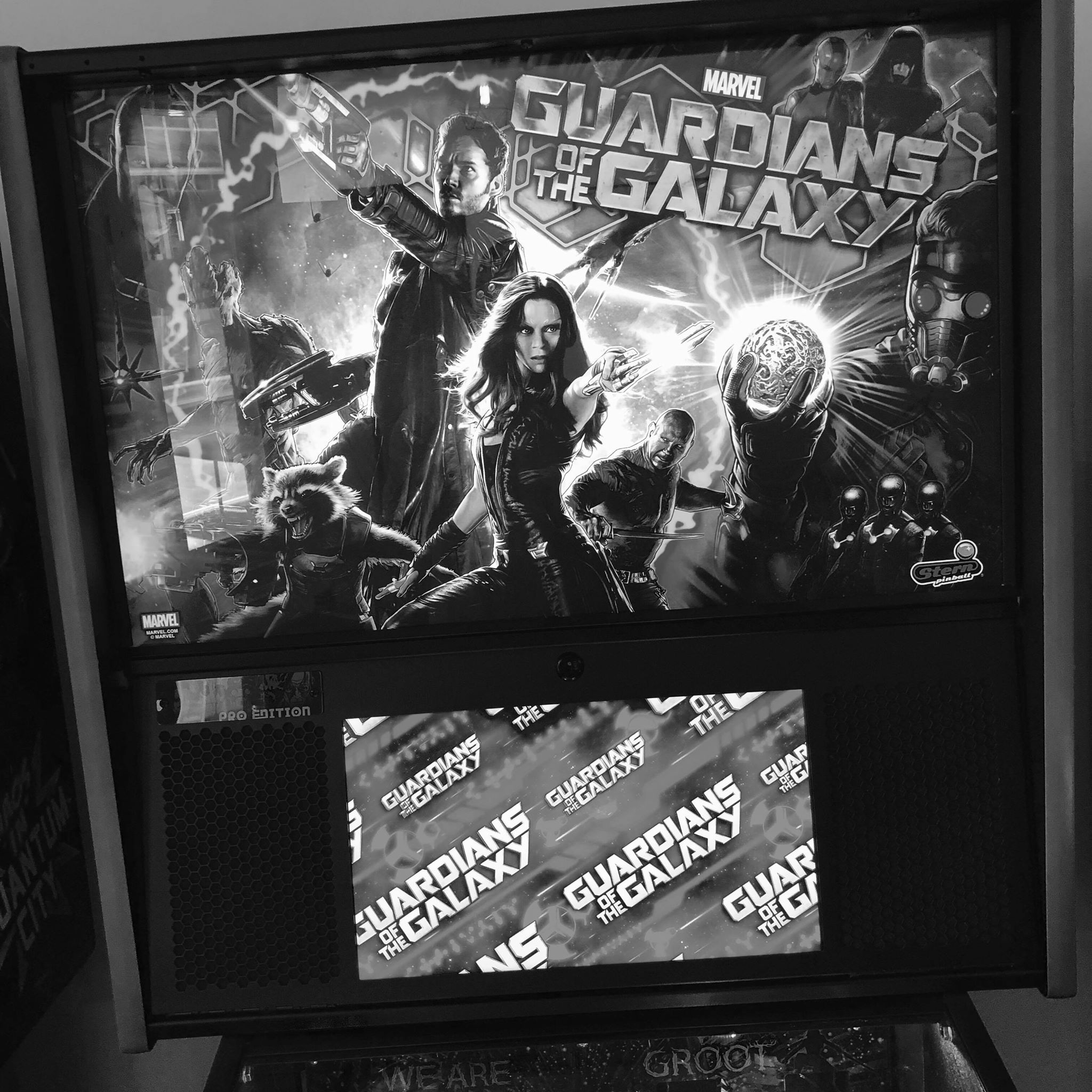 GUARDIANS OF THE GALAXY PRO - STERN - 2017