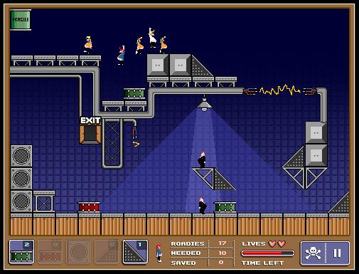 Roadies screenshot