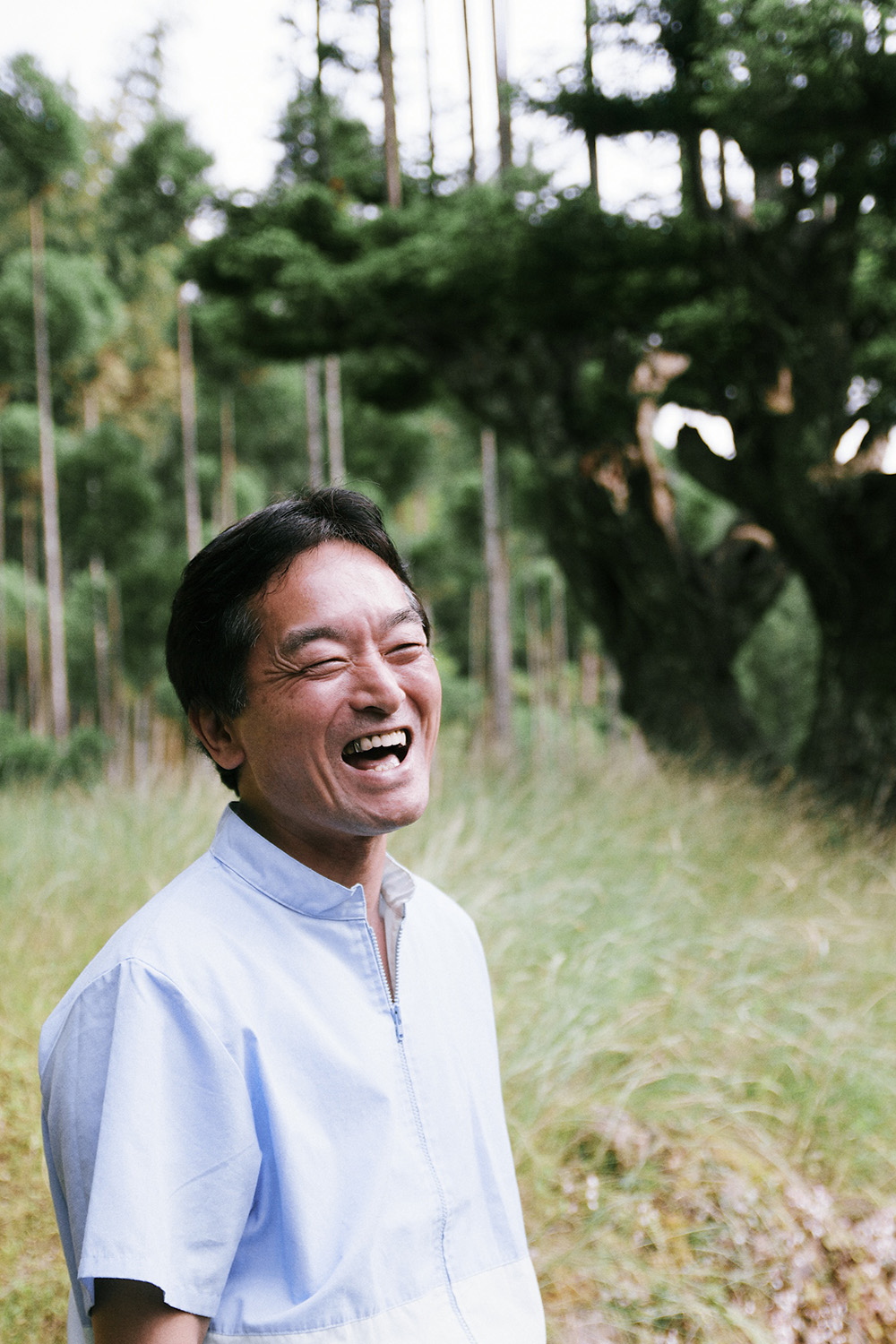 Our friend Nakata-san in his magical Kitayama forest in Kyoto, Japan.