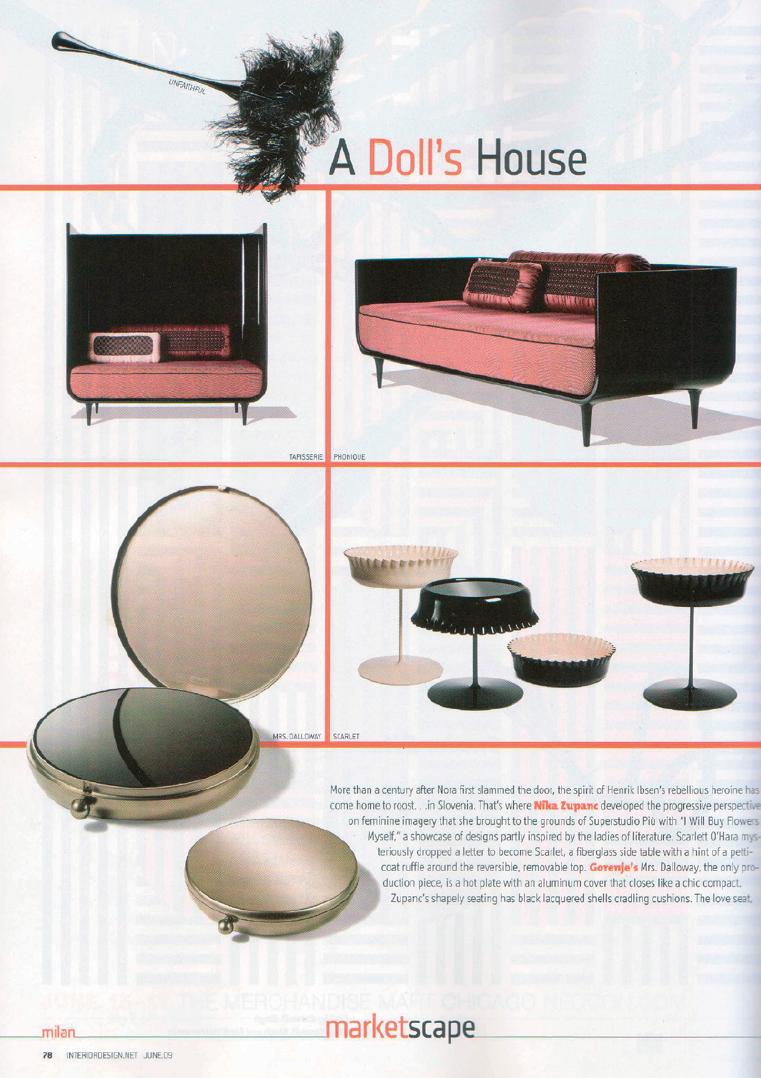 Interior Design, USA 2009