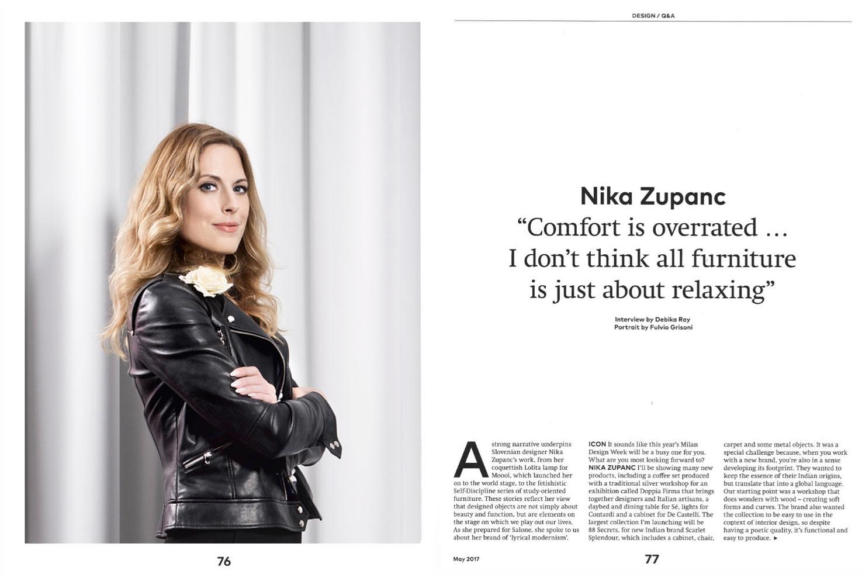 Icon magazine, 2017