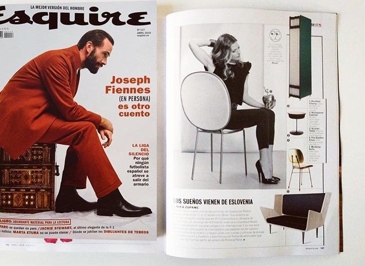 Esquire magazine, Spain, 2018