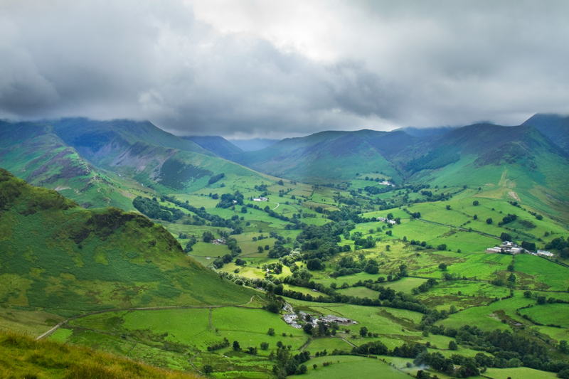 Afternoon in Newlands Valley, Lake District