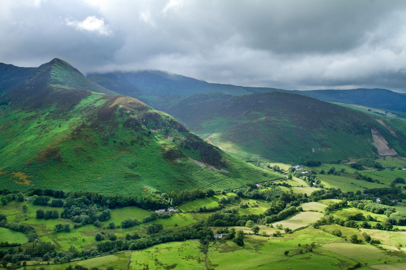 Causey Pike from the CatBells, Lake District