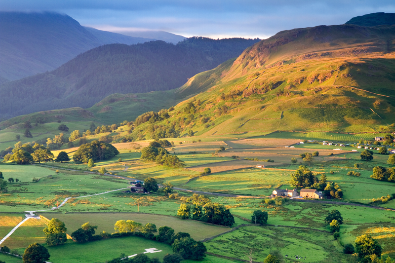 Morning Over Cumbria, Latrigg