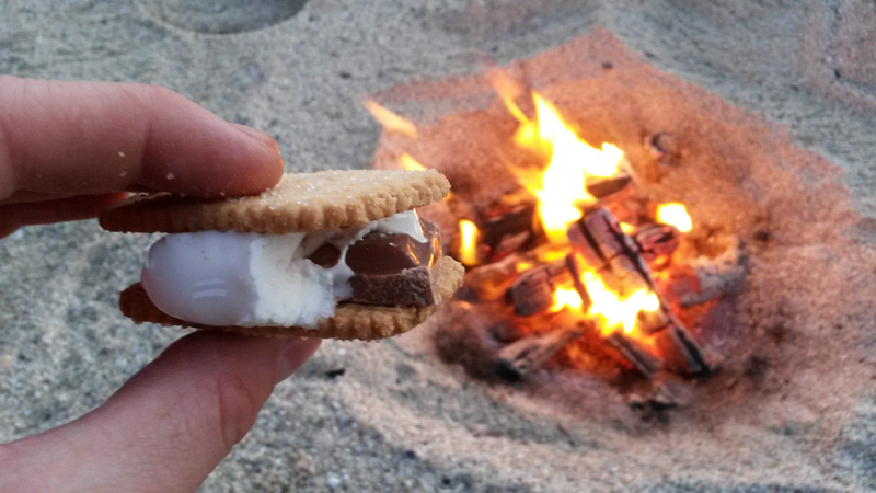 Smores at Anna Bay, Ardnamurchan