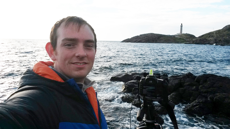 Me at Ardnamurchan Lighthouse