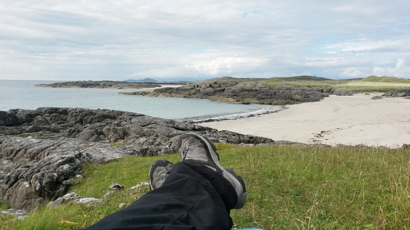 Relaxing in Ardnamurchan