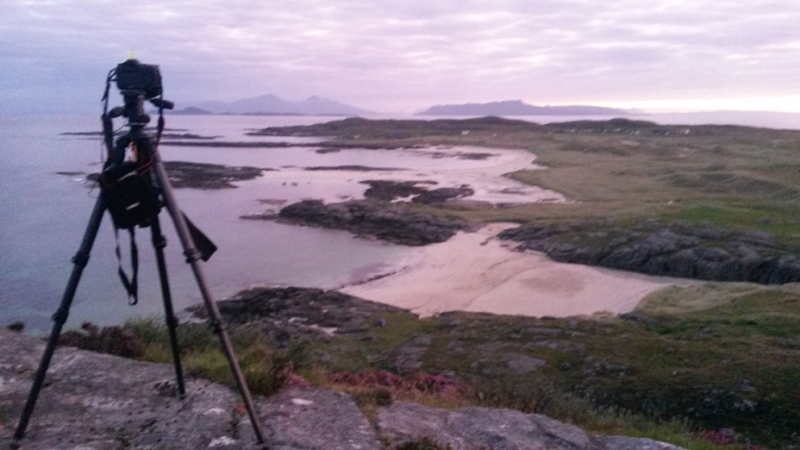 Waiting for Sunrise over Sanna