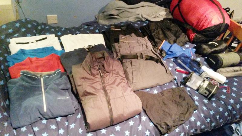 Packing for Ardnamurchan