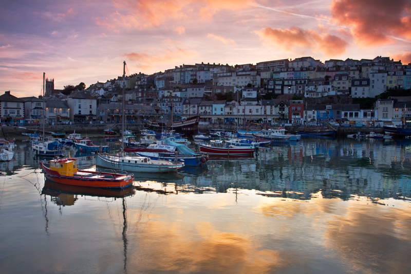 Gold Reflections, Brixham