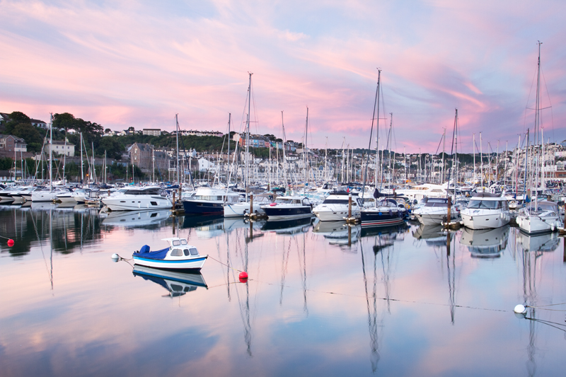 Still Morning, Brixham Marina