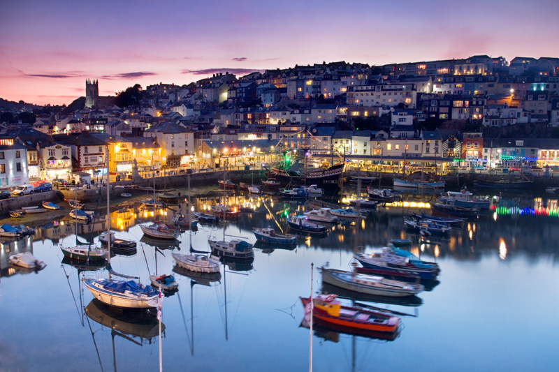 Night Arrives, Brixham