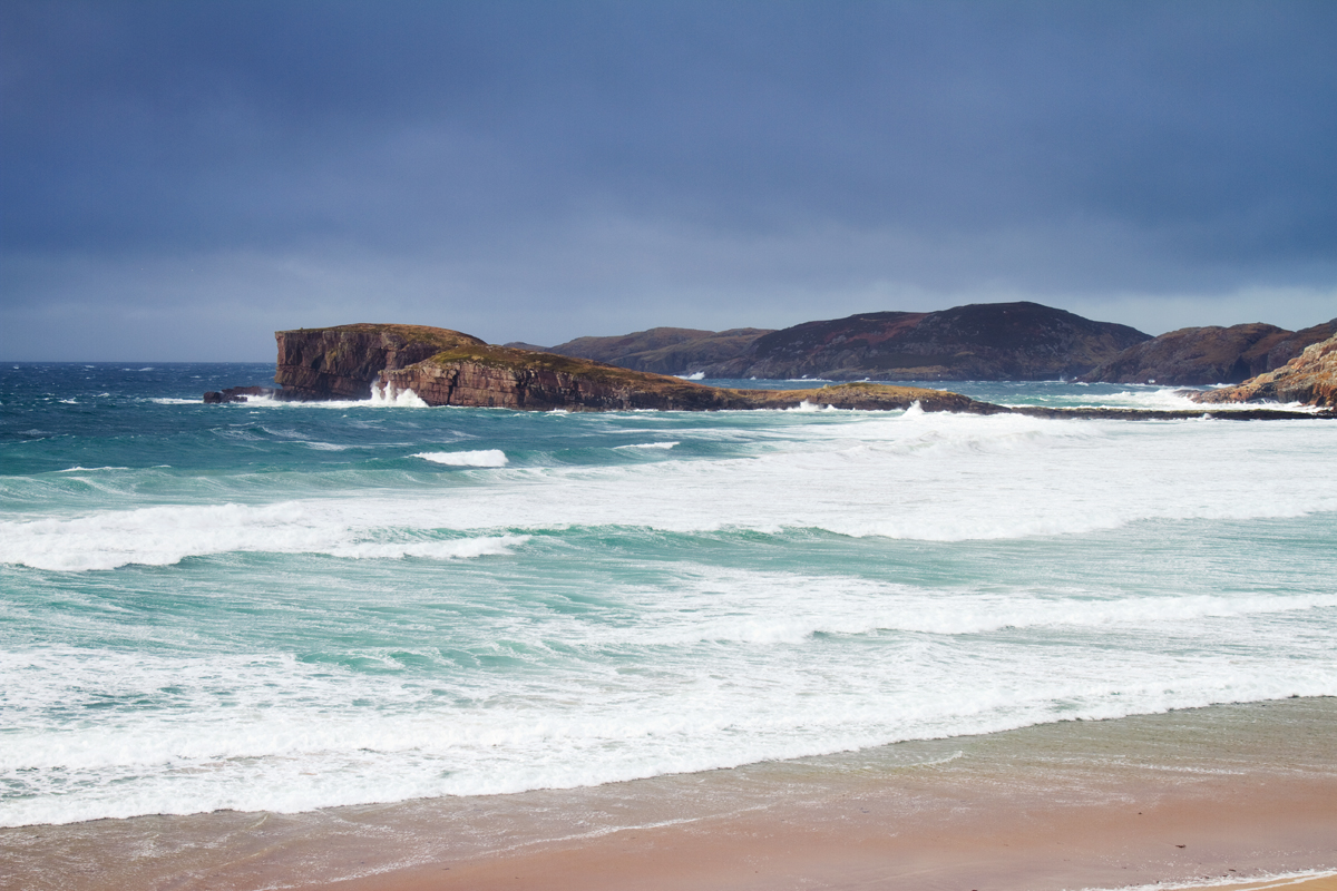 Waves Breaking on Oldshoremore, Kinlochbervie