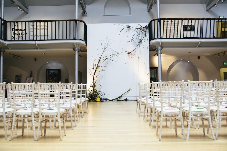 Quirky Wedding Photography Edinburgh Dovecot Studios 030.jpg