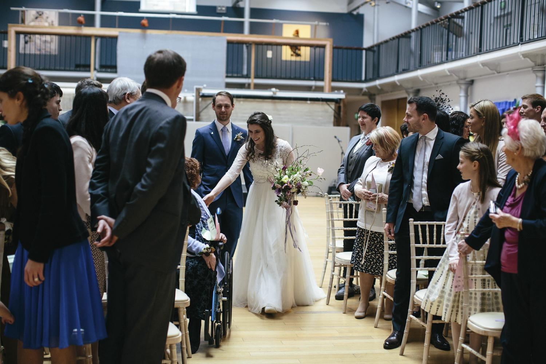 Quirky Wedding Photography Edinburgh Dovecot Studios 043.jpg