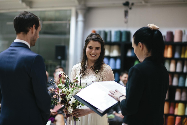 Quirky Wedding Photography Edinburgh Dovecot Studios 046.jpg