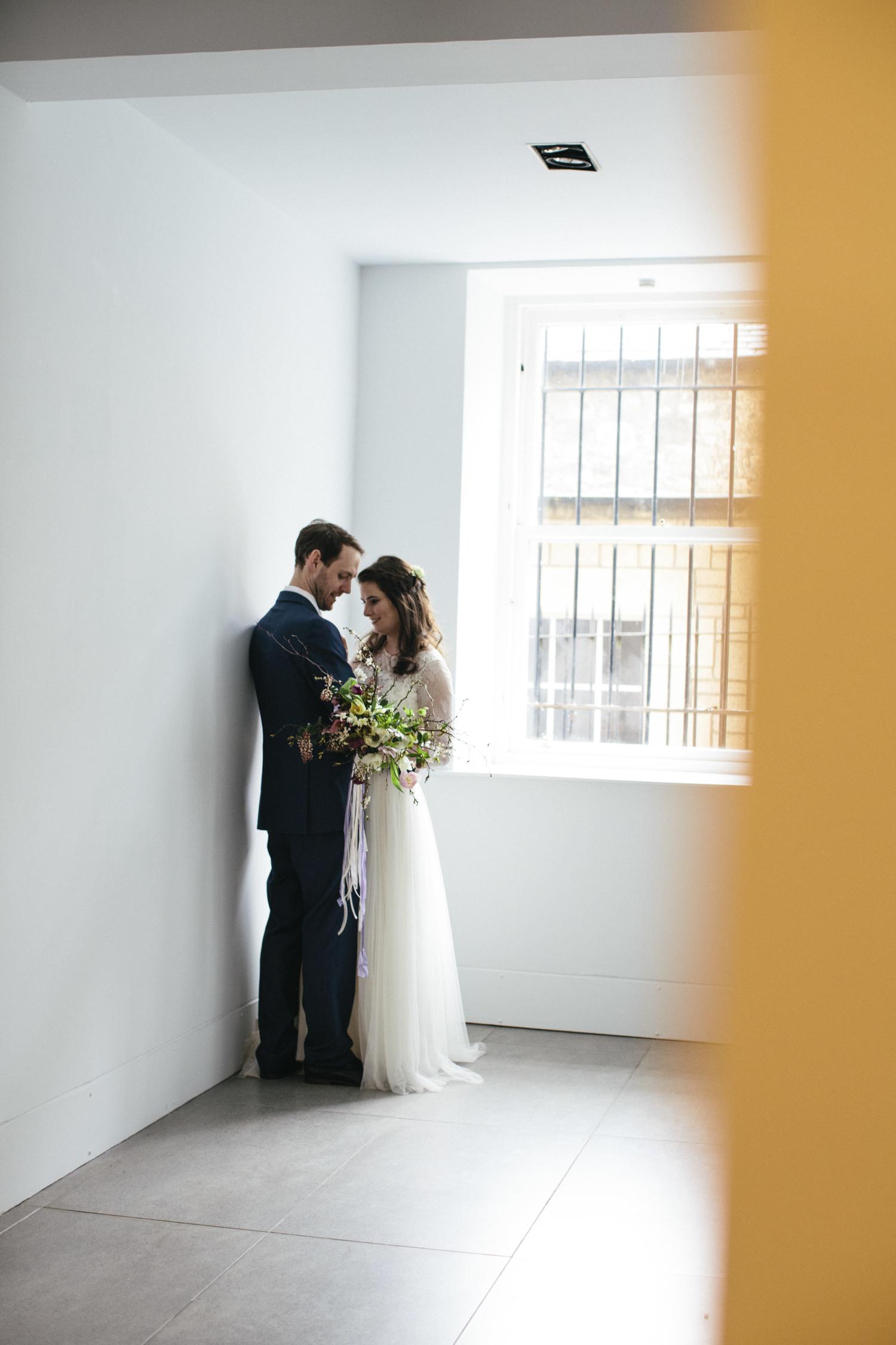 Quirky Wedding Photography Edinburgh Dovecot Studios 070.jpg