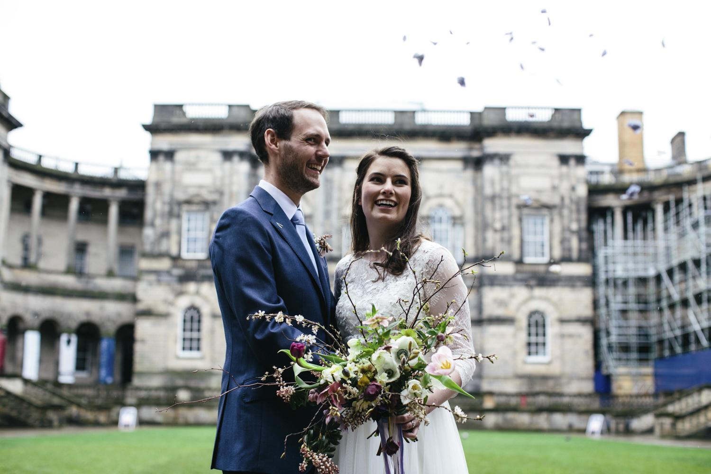 Quirky Wedding Photography Edinburgh Dovecot Studios 074.jpg