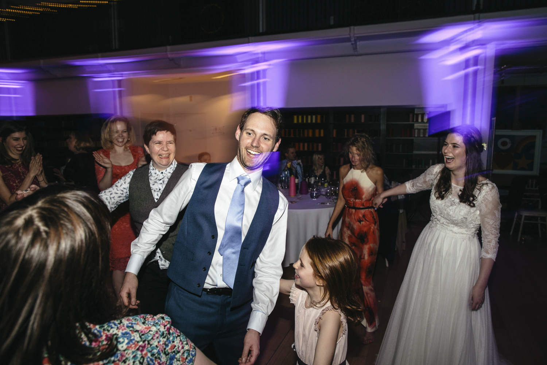 Quirky Wedding Photography Edinburgh Dovecot Studios 140.jpg