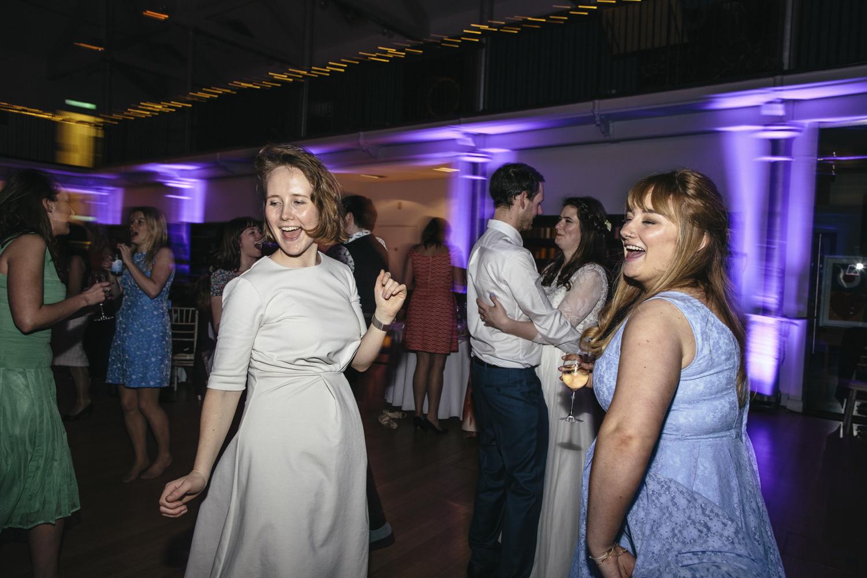 Quirky Wedding Photography Edinburgh Dovecot Studios 141.jpg