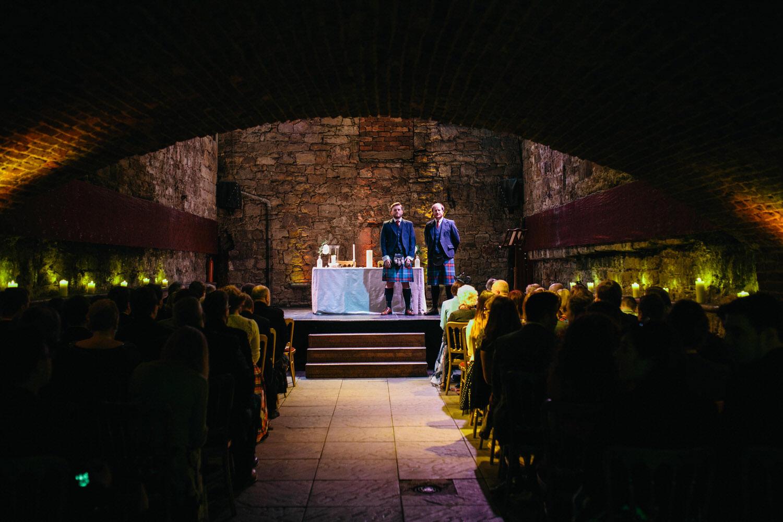 Quirky wedding photographer edinburgh the caves 041.jpg
