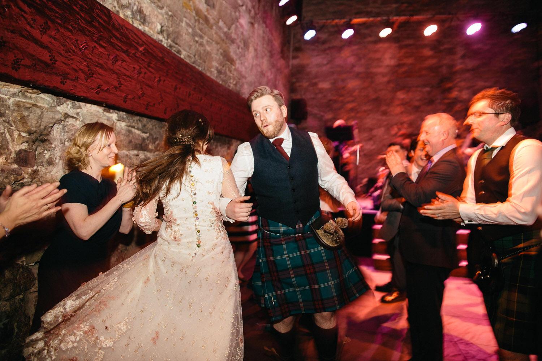 Quirky wedding photographer edinburgh the caves 075.jpg