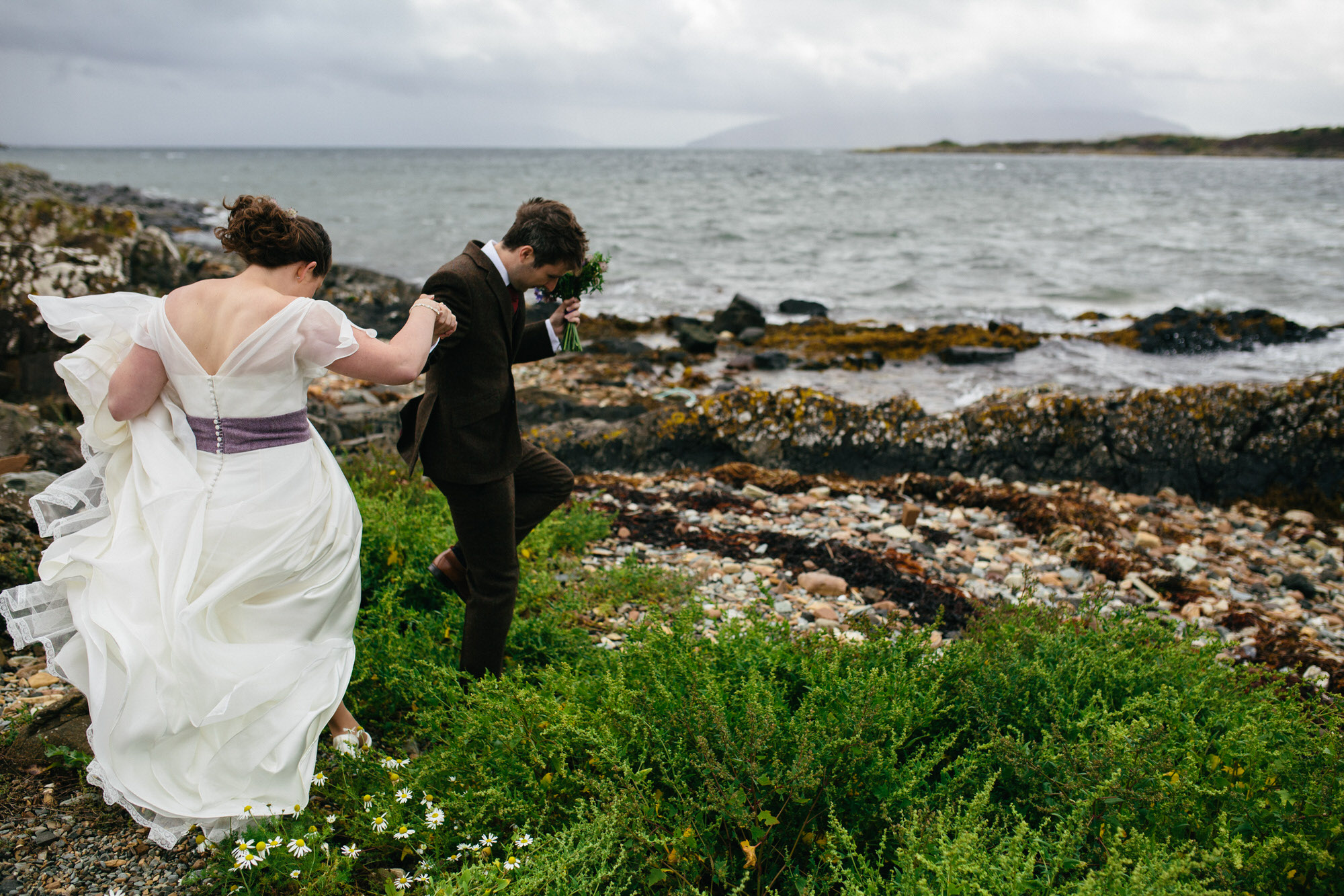 Alternative Natural Quirky Wedding Photographs UK Scotland 004.jpg