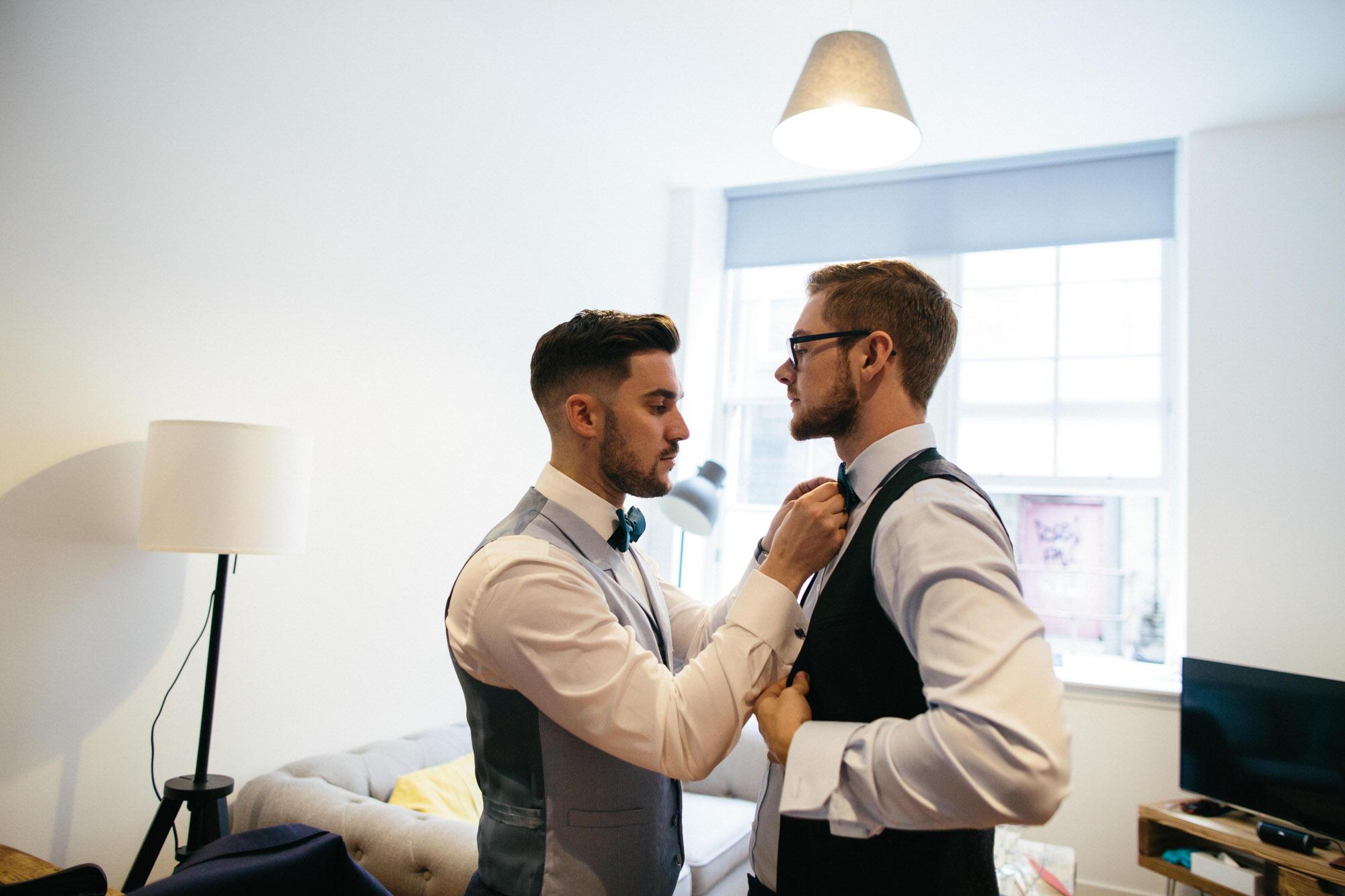 Alternative Same Sex Wedding Photography Scotland Glasgow Drygate 009.jpg