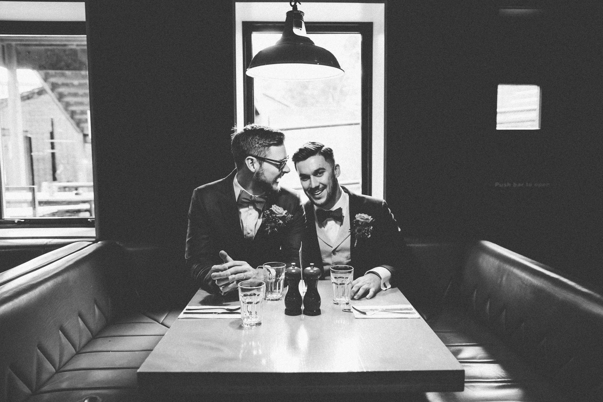 Alternative Same Sex Wedding Photography Scotland Glasgow Drygate 031.jpg