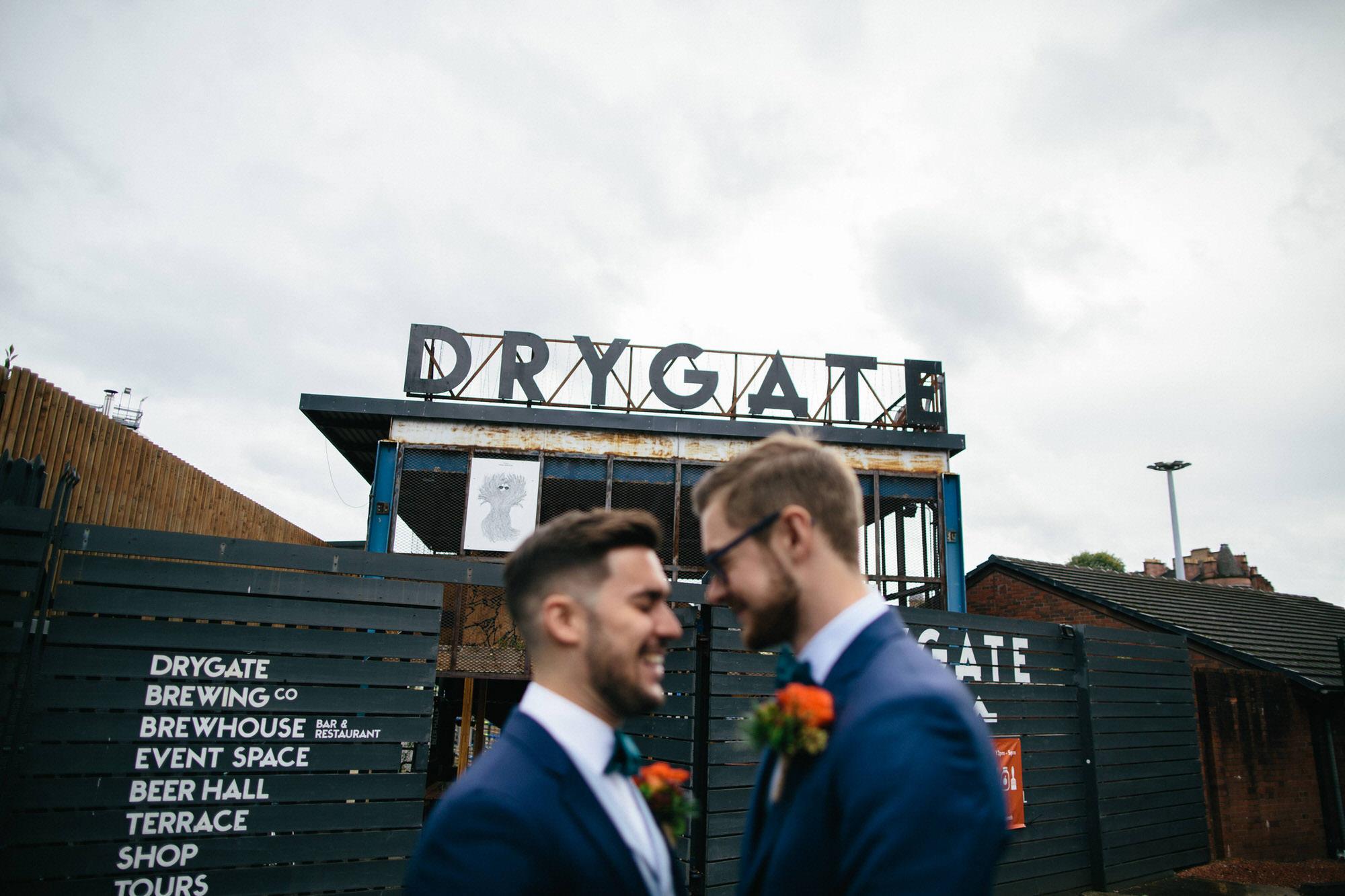 Alternative Same Sex Wedding Photography Scotland Glasgow Drygate 032.jpg