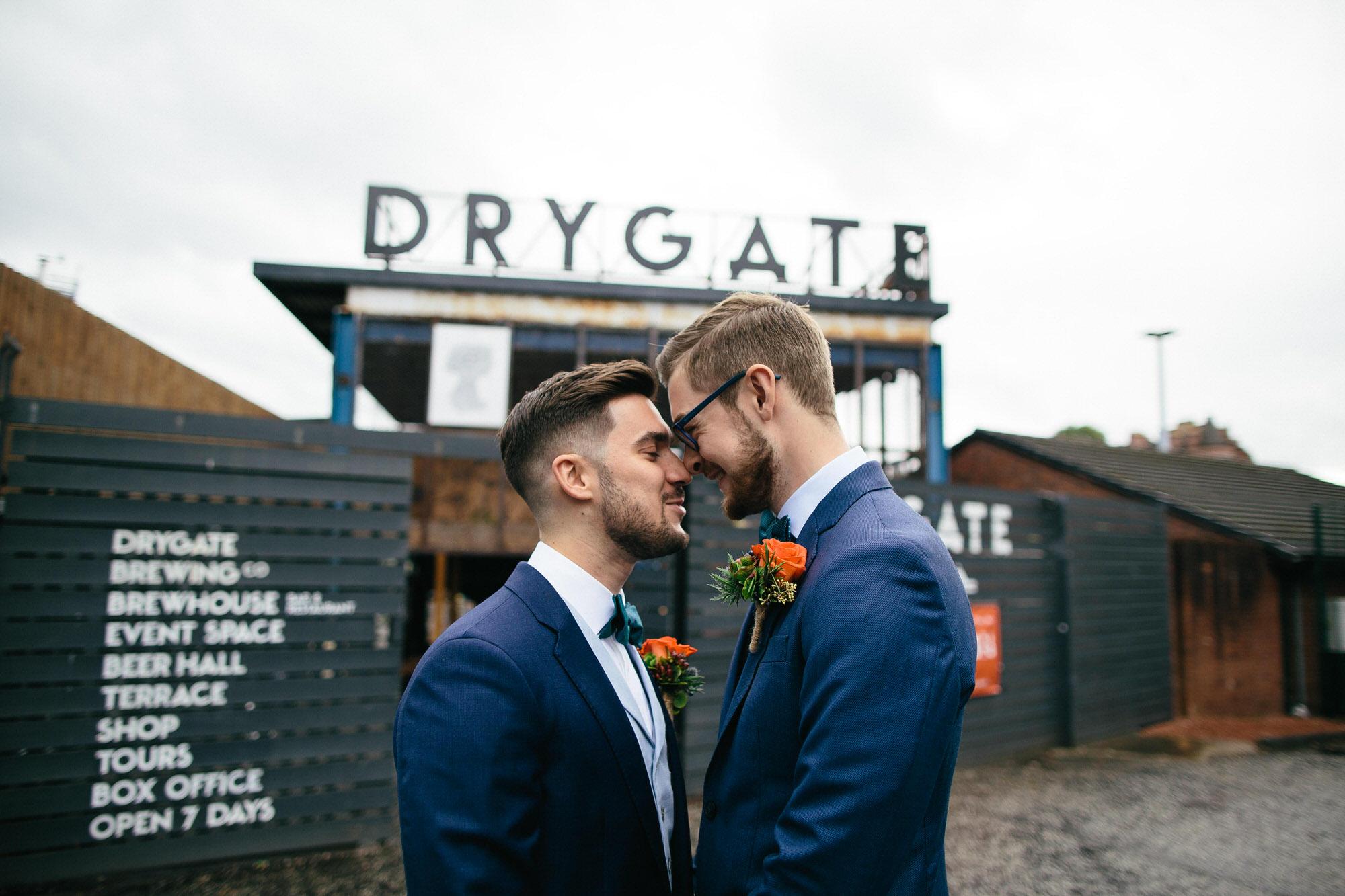 Alternative Same Sex Wedding Photography Scotland Glasgow Drygate 033.jpg